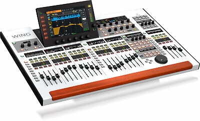 Behringer WING 48-CH Digital Mixer 48-in/48-out USB Audio Interface w/ 24 Faders