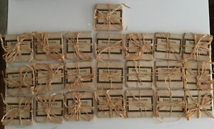 Wine 22 Tumbled marble coasters wrapped with natural string