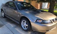 2002 mustang - low kms and great condition!