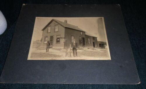 RARE Cabinet Card Photo, National Brewery Depot or Saloon, Syracuse New York