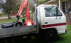 Isuzu NKR 57 Crane truck 4.5t Echuca Campaspe Area Preview