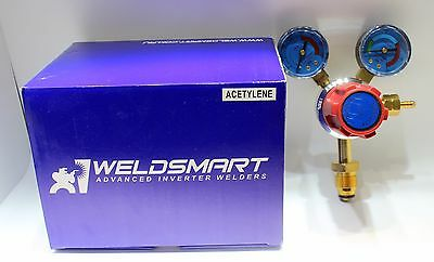Weldsmart Acetylene Gas Regulator Welding