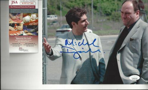 SOPRANOS Michael Imperioli autographed 8x10 photo with Tony Soprano JSA Cert