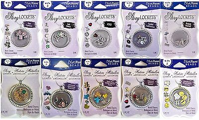 BLUE MOON BEADS Story Lockets Metal Charms - VARIOUS STYLES - Choose One! - Blue Moon Beads Charms