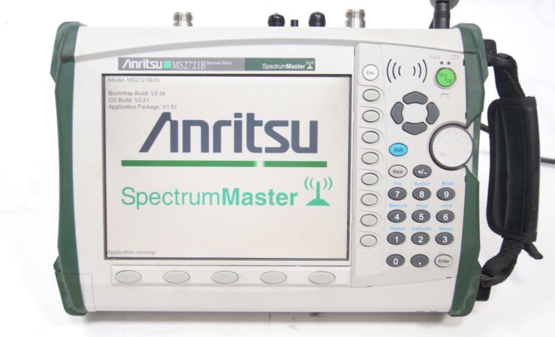 Anritsu MS2721B Spectrum Analyzer 9kHz to 7.1GHz Opt. Tracking Generator AS-IS