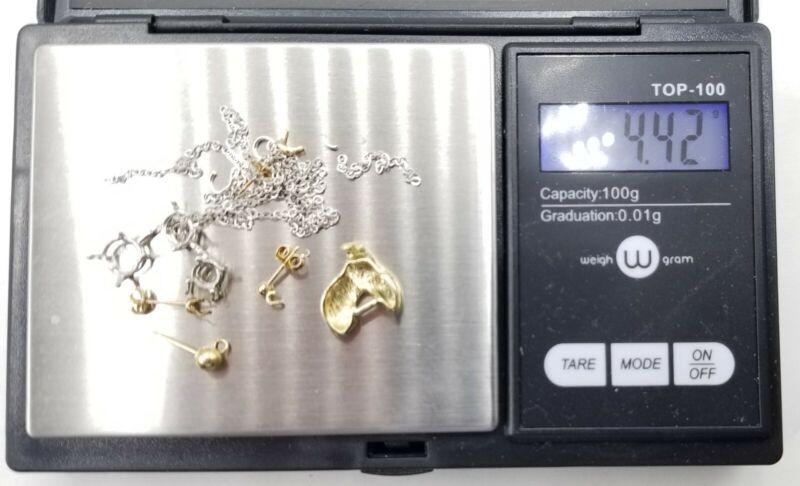 14K Gold Scrap 4.42 Grams