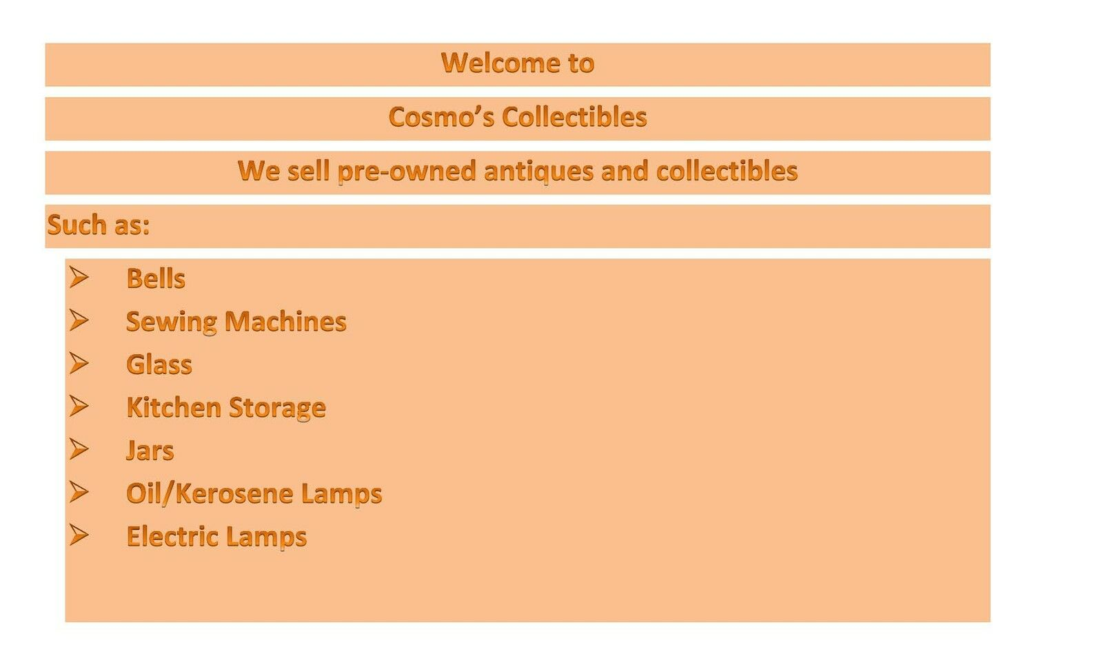 Cosmos Collectables
