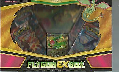 POKEMON TCG Collection Box: Flygon EX Gift Box Factory Sealed,