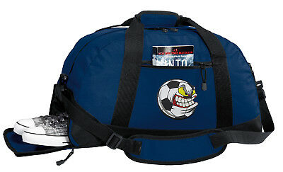 Soccer Duffle Bag BEST GYM or TRAVEL DUFFEL BAGS - W/ SHOE