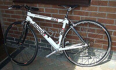 Monoc road bike. Campag Centaur 30-speed group set. Mavic Krysium wheels