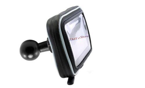 "Apple iPhone X 8 7 6 6Plus Water Resistant Smartphone Case w/1"" Ball f/RAM MOUNT"