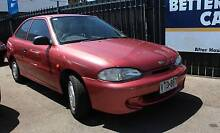 1995 Hyundai Excel Hatchback Well Worth Viewing. Reynella Morphett Vale Area Preview
