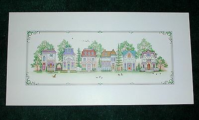 Lenox Spice Village Print New and Original
