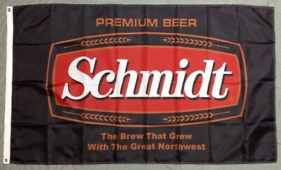 Schmidt Beer  Banner Flag 3/' x 5/' Ships From NC