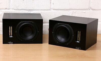 NEAT IOTA High End Micro bookshelf standmount loud speaker monitors UK made