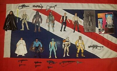 Star Wars Kenner Action Figures Job Lot Bundle - Boba Fett Han Solo in Carbonite