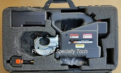 Huskie Rec-3410 12 Ton Crimp Hydraulic Battery Crimper Robo U Die Crimping Tool