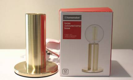 BRONZE LARGE LIGHT GLOBE TABLE SIDE LAMPS NEW IN BOX SET OF 2