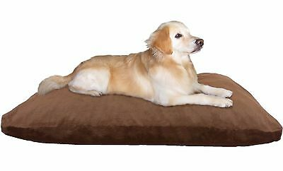 Memory Foam Mix Shredded Dog Bed Pillow, Waterproof liner, Denim Cover XXL 40CB