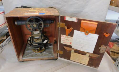 K & E / Keuffel & Esser Paragon Transit     Vintage Surveying Instrument