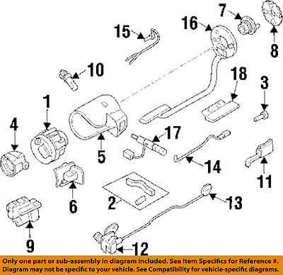 Chevrolet GM OEM 92-96 Beretta-Turn Signal Switch Lever Control Handle 19005030 (Chevrolet Beretta Turn Signal)