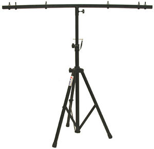 PRO DJ LIGHTING TRIPOD STAND & T BAR TRUSS LIGHT FIXTURE PAR CAN WASH PACKAGE