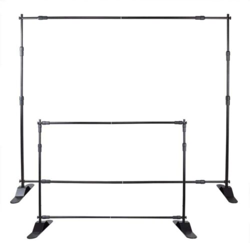Smarketbuy 10 Ft Backdrop Banner Stand Portable Lightweight Step and Repeat Stan