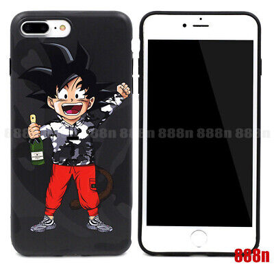 US - Dragon Ball Z Son Goku Phone Case Cover For Apple iPhone X 8 7 PLUS 6 6S