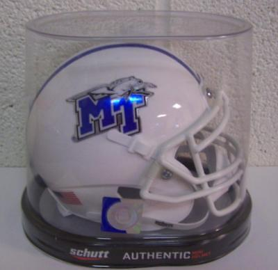 (Middle Tennessee State Blue Raiders NCAA Replica Schutt Mini Helmet)