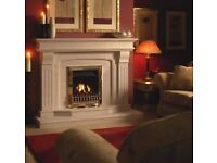 Limestone Benson Fireplace inch Free Local Delivery