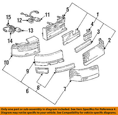 Cadillac GM OEM Seville Taillight Tail Light-Rear-Inner Lamp Right 16523468