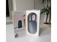 NEW - Lexon MINO T Water-resistant Bluetooth Speaker with Carabiner - Blue