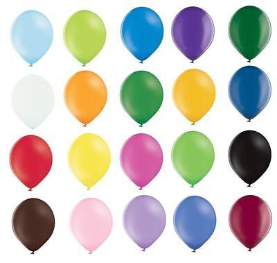Premium Luftballons 100% Bio, Freie Wahl Farbe/ Anzahl, 27cm Ø, heliumgeeignet