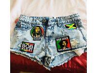 Bob Marley Zion shorts