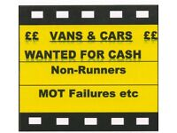 Best Prices Paid Cash Vans and Cars 07976552211