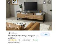 Kilby Wide Media TV stand *BRAND NEW*