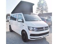 2017 Volkswagen VW Transporter 102 ps Pop top Conversion Camper Campervan