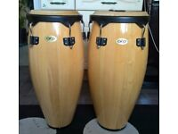 Pair of CONGA DRUMS by Cosmic Percussion