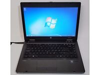 "14"" Laptop HP ProBook 6465b. Win 7, 4GB RAM, 300GB HDD, AMD A6 Quad Core, 1.6GHz"