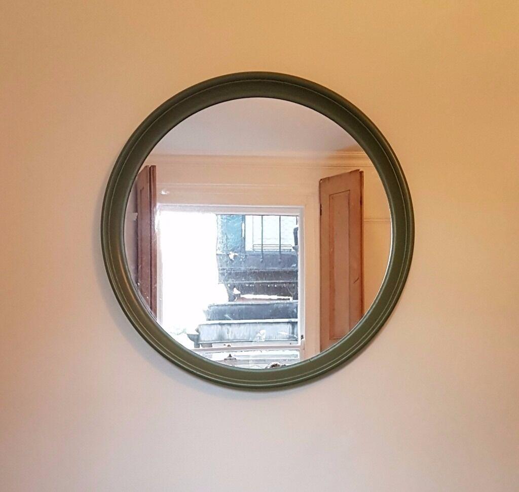 Ikea Ekk Green Frame Mirror For