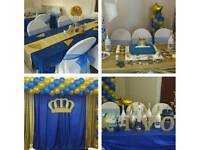 PARTY DECORATING BALLOON ARCH,COLUMN,CENTERPIECE,CHAIR COVERS,TABLE CLOTH,WEDDINGS,KIDS ,EVENTS