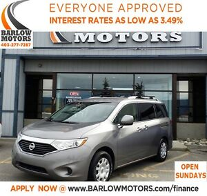 2012 Nissan Quest 3.5 S (CVT)**AMVIC INSPECTION & CARPROOF PROVI