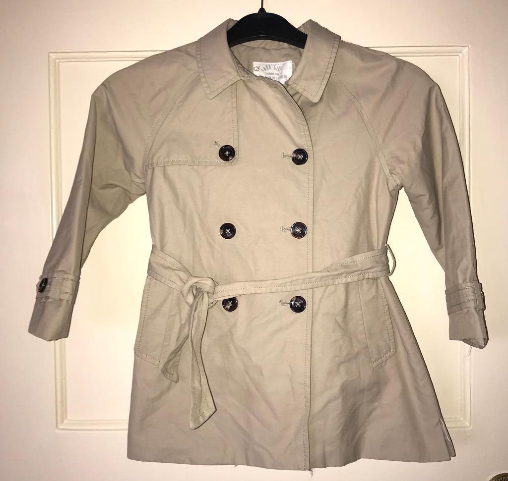 Zara Girls beige Mac coat | in Yardley, West Midlands | Gumtree