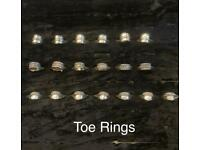 Indian Silver Toe Rings