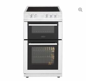 Belling FS50EDOC white ceremic cooker