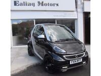 2014 SMART FORTWO GRANDSTYLE TURBO 84BHP,SAT NAV,LEATHER,1 OWNER,FULL HISTORY, WARRANTY,PAN ROOF,AC