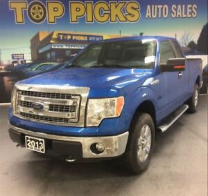 2013 Ford F-150 XTR SUPER CAB, 4X4, 18 CHROME WHEELS, LOW KMS!
