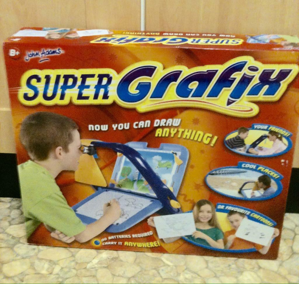 Super Grafix Drawing Game. As New in Box. Reduced £8**