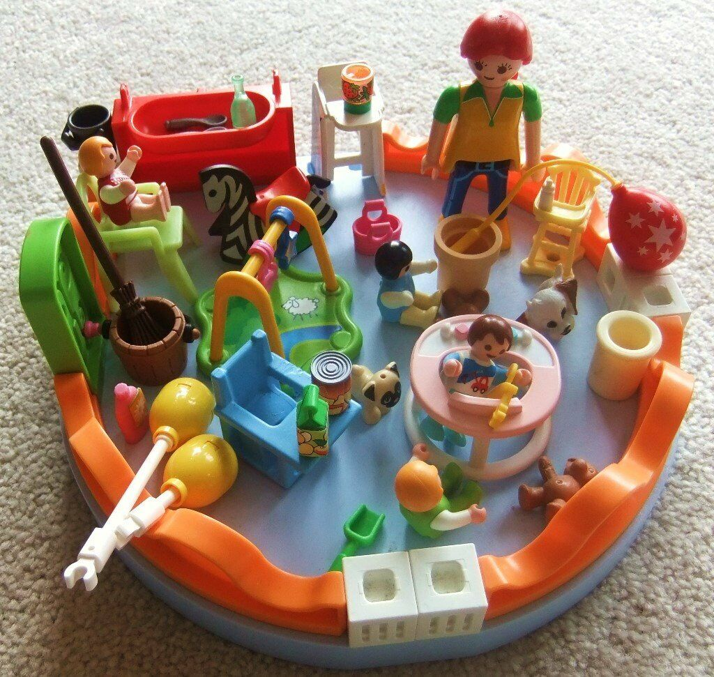 GREAT PLAYMOBIL 5570 CITY LIFE TOY PLAYGROUP KINDERGARTEN ...