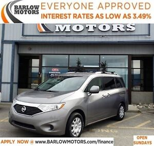 2012 Nissan Quest 3.5 S (CVT)*EVERYONE APPROVED* APPLY NOW DRIVE